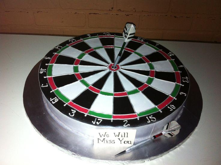 dart board cakes