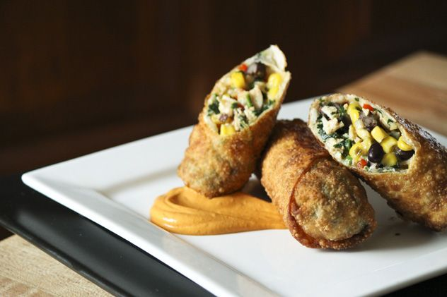Southwestern Egg Rolls (ooh..these looks amazing..I will have to try ...