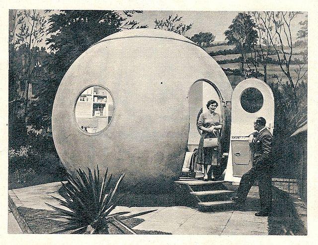 1959 Das Haus, Juni Ludowici Rundhaus