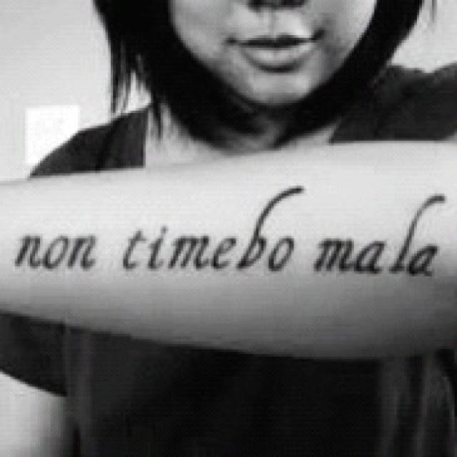 Will fear no evil tattoo