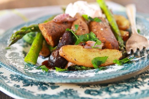"Sausage"" and potato bake. Vegan. | Food: Veggies & Starches | Pinter..."