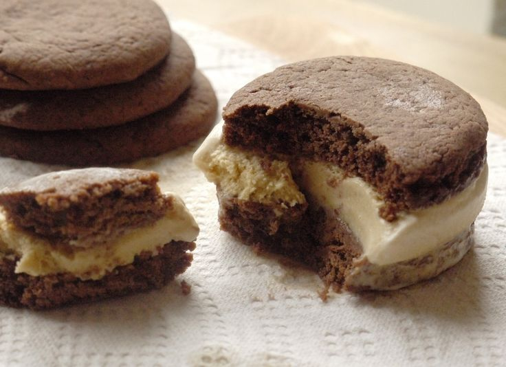 Dulce de Leche Ice Cream Sandwiches | ice cream | Pinterest