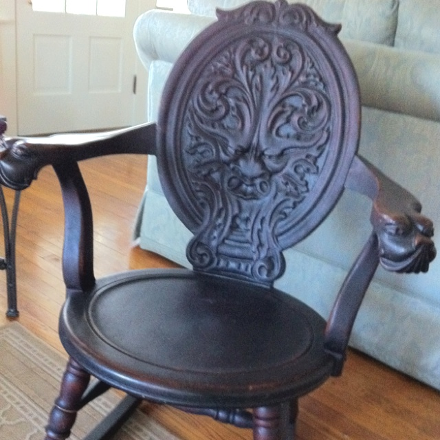 dragon rocking chair