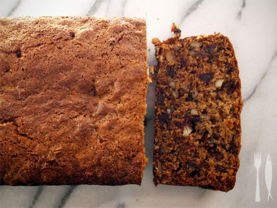 The Littlest Anchovy: Date and Walnut Loaf