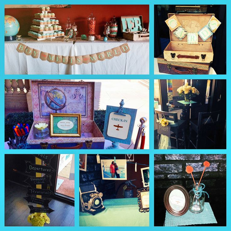 travel theme baby shower party idea 39 s pinterest