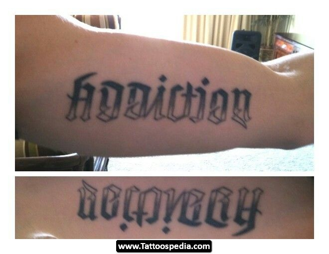Tattoo recovery quotes quotesgram for Are tattoos addictive