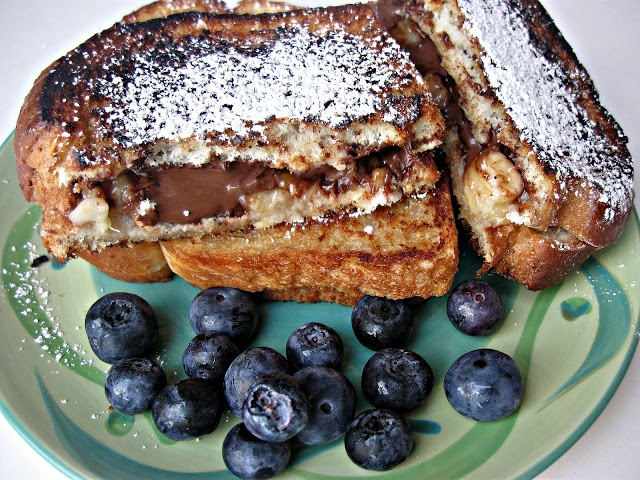 Grilled Nutella and Banana Sandwiches - yeah mutha-chucka