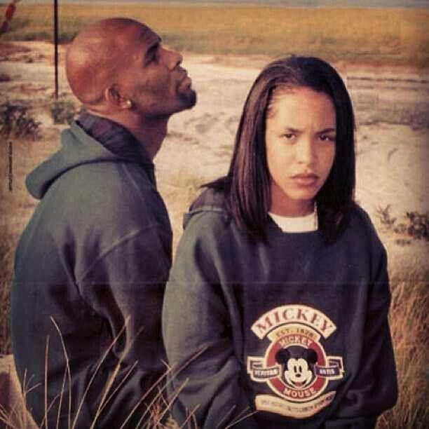 Aaliyah   R  Kel...R Kelly And Aaliyah Child