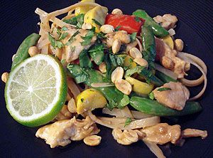 Thai Chicken Stir Fry | Recipes with chicken | Pinterest