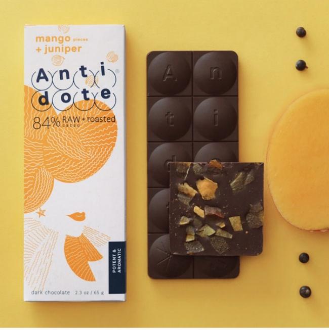 Mango & Juniper Antidote Chocolate | Food | Pinterest