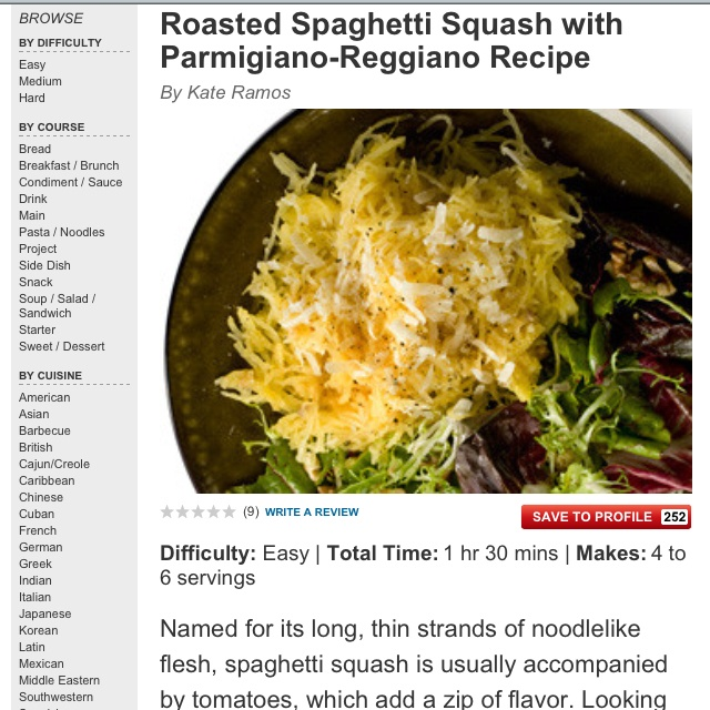 ... .com/recipes/13563-roasted-spaghetti-squash-with-parmigiano-reggiano
