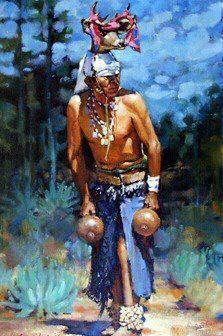 native yaqui deer dancing painting pasqua yaqui tribe tucson az