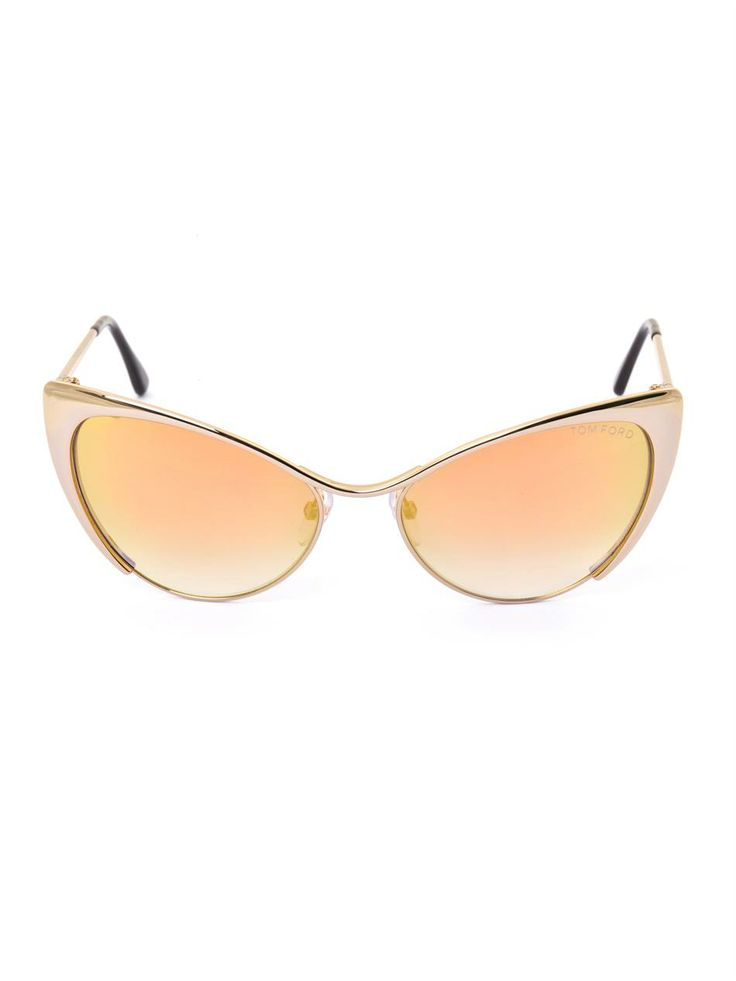 tom ford cat eye flash gold sunglasses stunner shades pinterest. Cars Review. Best American Auto & Cars Review