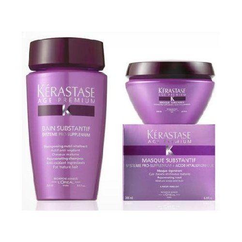 Kerastase bain substantif shampoo lait substantif for Kerastase bain miroir conditioner