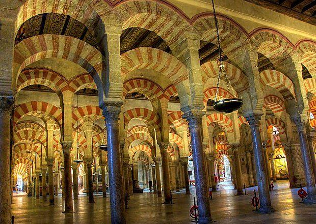 La mezquita de c rdoba viajar por espa a pinterest for Interior mezquita de cordoba