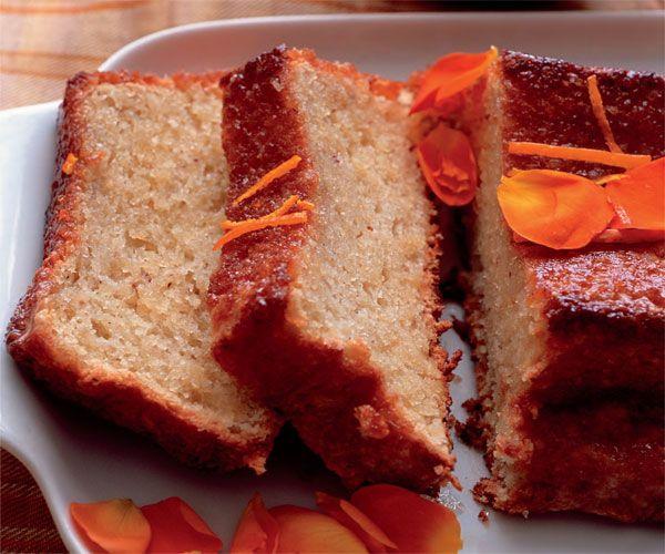 Orange and Hazelnut Cake with Orange Flower Syrup | Recipe