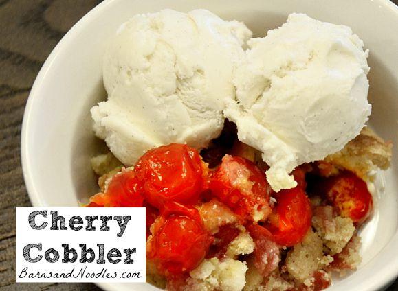 Cherry Cobbler | Sweets Recipes | Pinterest