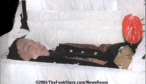 Bernie Mac In His Casket Photos Rick james funeral service