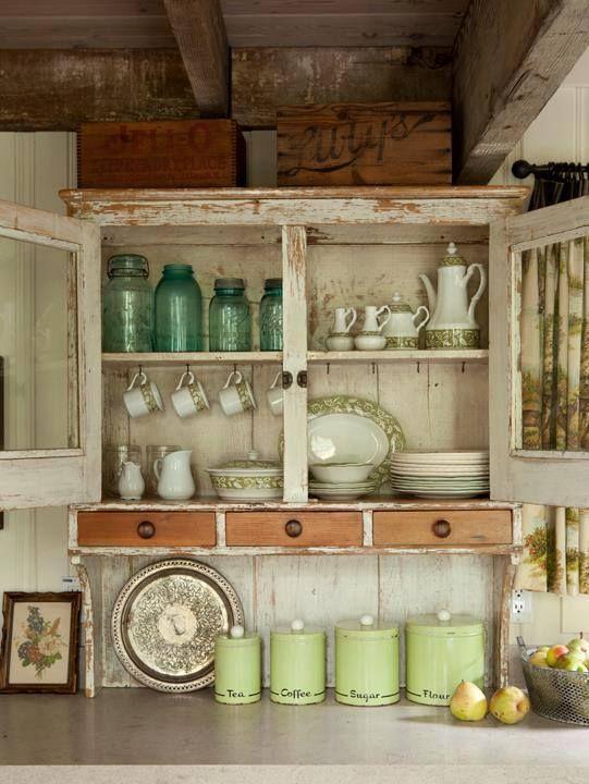 Konyhaszekr Ny Kitchen Cabinet Vintage Pinterest