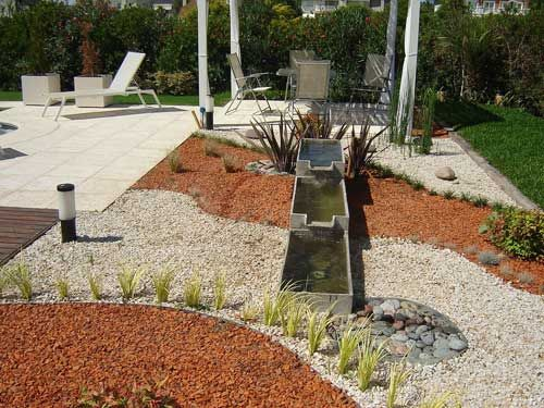C mo armar jardines secos design exteriores pinterest for Como disenar jardines exteriores