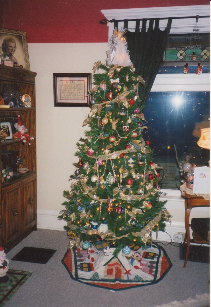 Our first Christmas at 963 Mt Pleasant