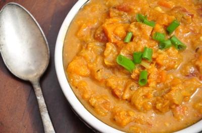 African Peanut Sweet Potato Soup | Savory Vegan | Pinterest