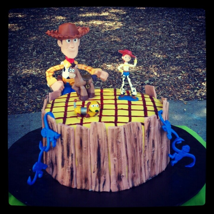 Toy Story Woody cake | Sumer's Cake Creations ~ For the Love of Cake ...
