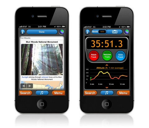 gps time tracking app iphone