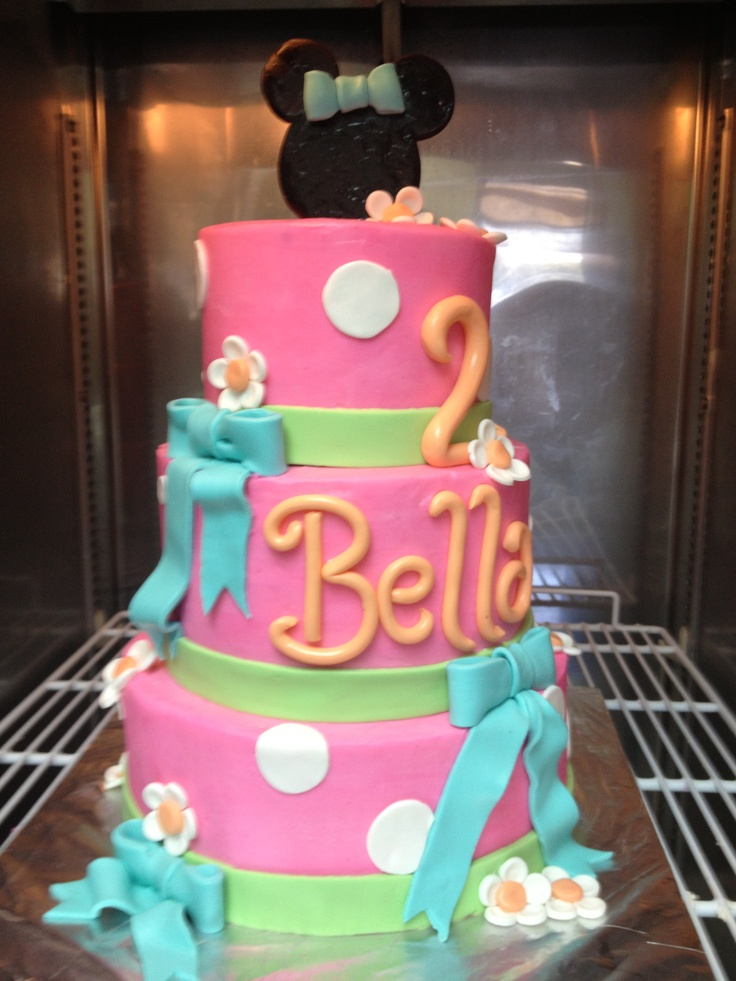 B Day Cake Images For Girl : Little girls bday cake Party stuff Pinterest