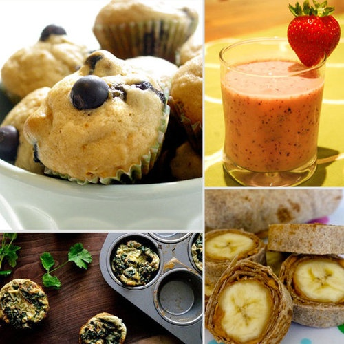easy healthy breakfasts for the kiddos pinterest