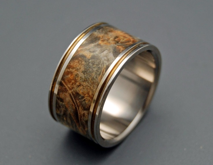 How Much A Heart Can Hold Wooden Wedding Rings Via Etsy