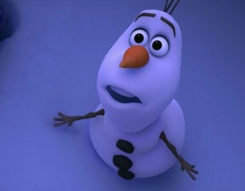 """Olaf Happy Snowman Gif Or bones""""~olaf the snowman"""