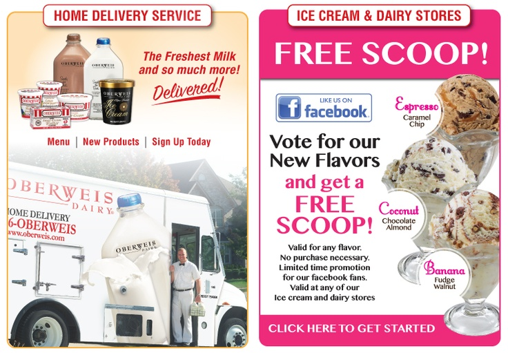Oberweis Dairy... home delivery in Williamsburg, VA