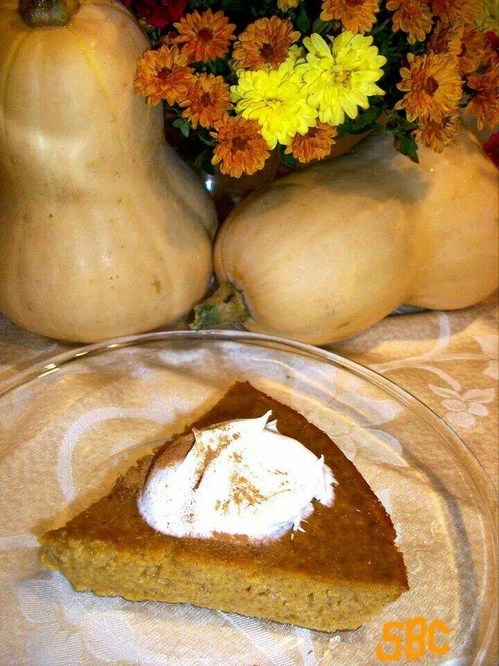 Crust less butternut squash pie | Nature | Pinterest