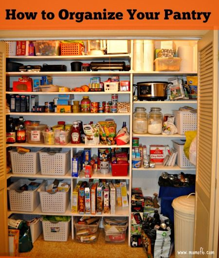 how to organize your pantry kitchen organizing pinterest