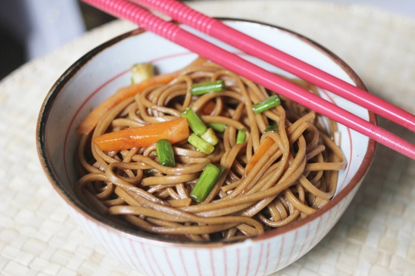 Soba noodles | Savoury recipes I'd like to try ... | Pinterest
