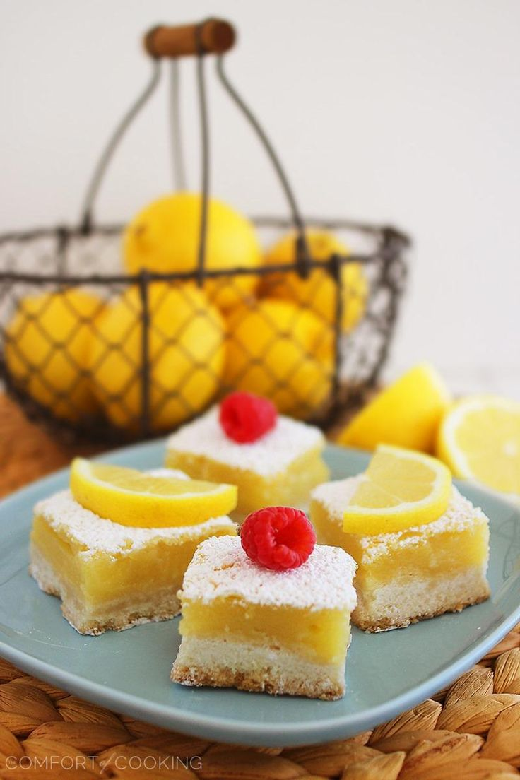 The Comfort of Cooking » Classic Lemon Bars