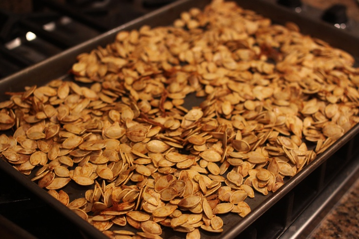 Toasted Pumpkin Seeds | Toasted Pumpkin Seeds | Pinterest