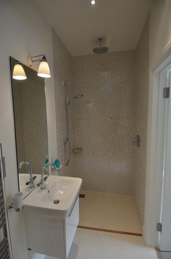 Doorless Open Shower Bathroom Makeover Ideas Pinterest
