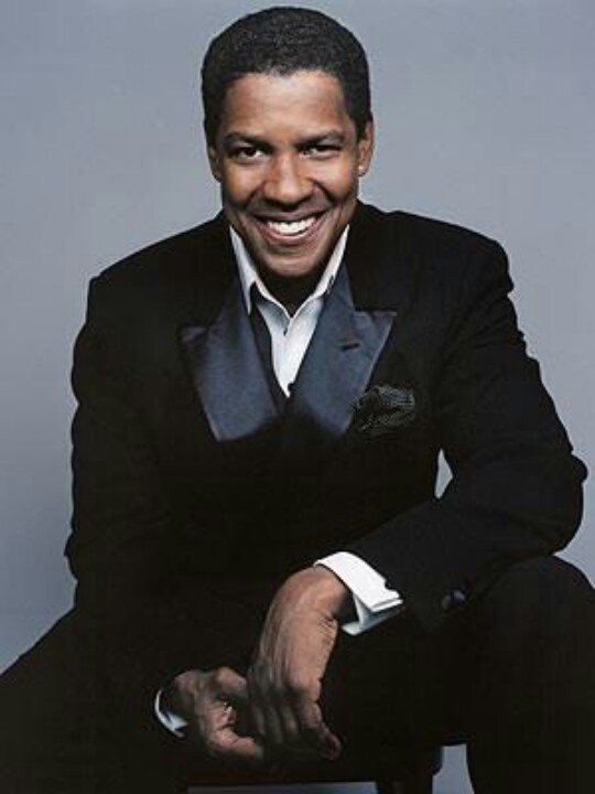 Denzel Washington. Hansome and very talented man. Top 5