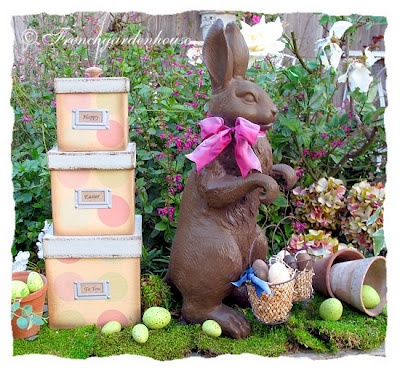 Outdoor easter decorations easter pinterest for Outdoor easter decorations for the home