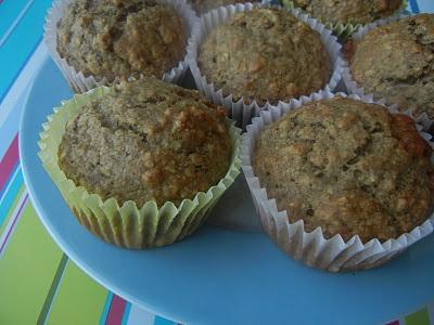 Butterscotch Oatmeal Muffins & Maple Nut Muffins