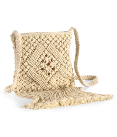Crochet Crossbody Bag Pattern : Aeropostale - Crochet Crossbody Bag Hand-made Bags & Purses Pinte ...