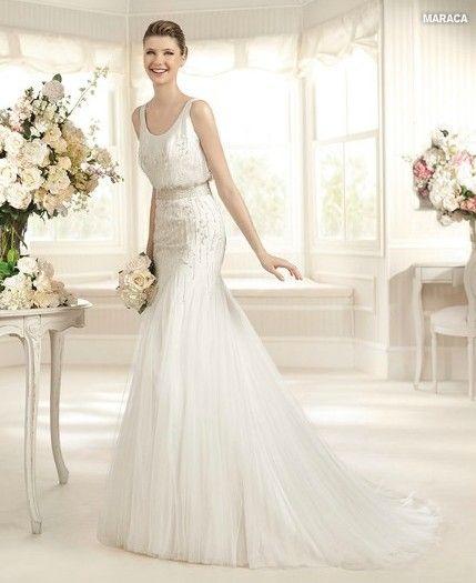 Silver white beaded wedding dress wedding dress pinterest for Silver beaded wedding dress
