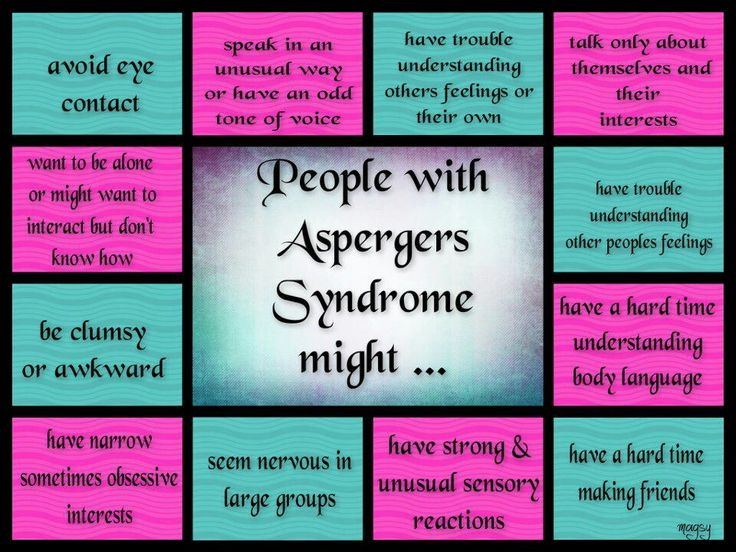 Aspberger syndrome in adults