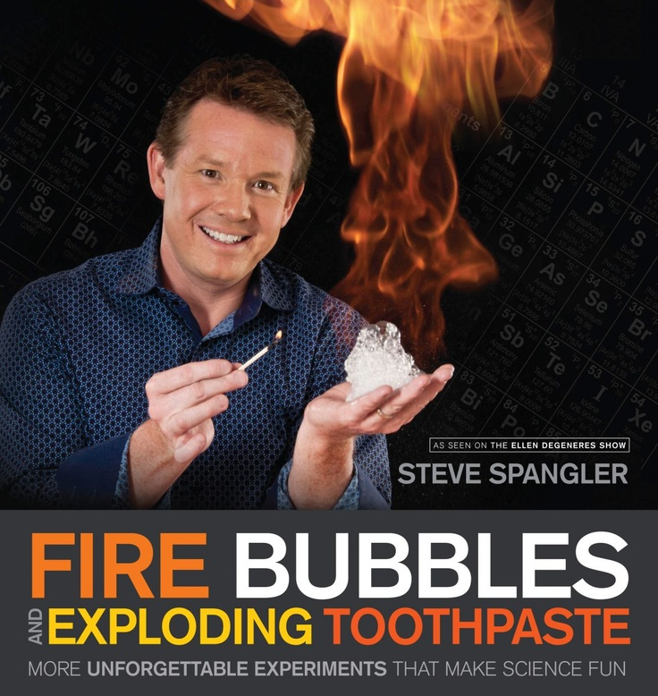 steve spangler science fair projects Steve spangler's wiki: over the last 15 years, steve has made over 500 television appearances as an authority on hands-on science and inquiry-based learning his cool.