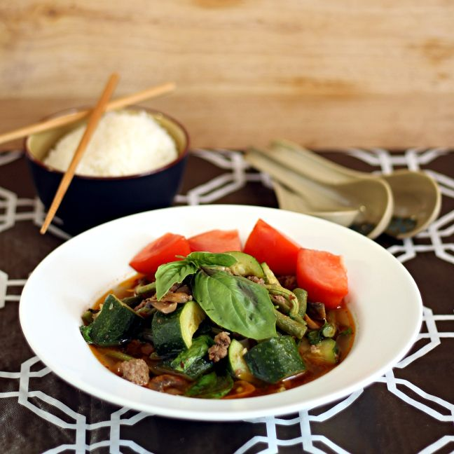 The best vegetable-beef soup you'll ever have - Rustic Thai Beef Soup ...