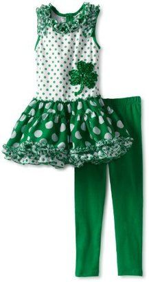 St. Patrick's Day Outfit  Rare Editions Girls 2-6X Tutu Legging Set at ShopStyle Amazon