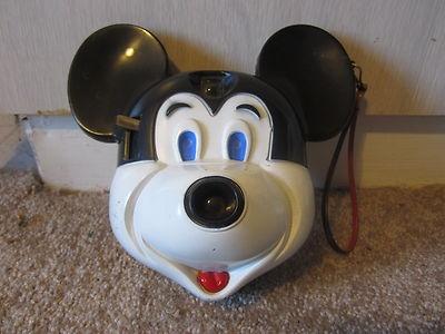 Mickey Mouse | Vintage Novelty/Toy Cameras