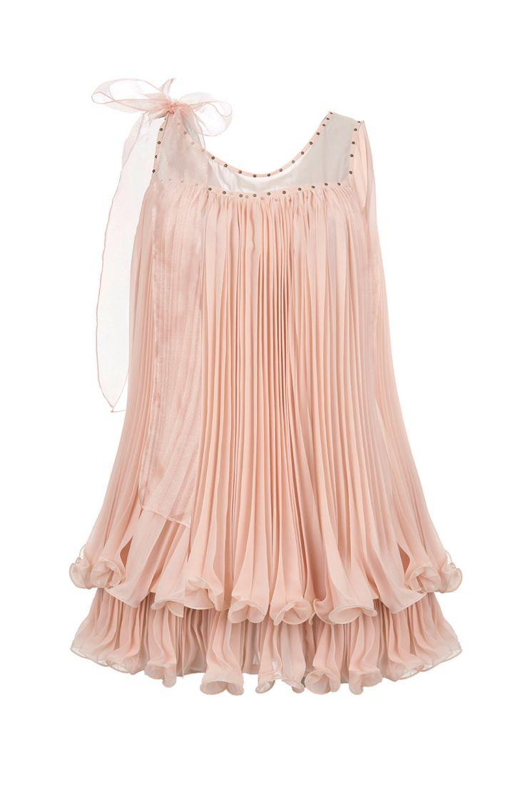 robe charleston et organza rose poudre robe mariage. Black Bedroom Furniture Sets. Home Design Ideas